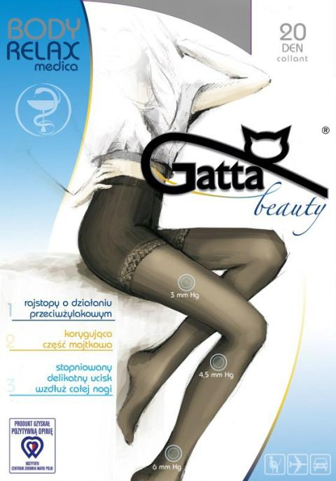 531935dc3ae898 Gatta Body Relaxmedica 20 den - rajstopy zdrowotne - Gatta - Bielizna9