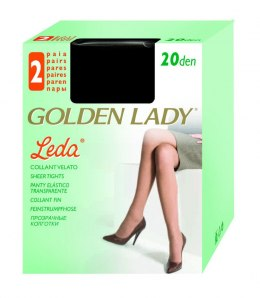 Golden Lady Rajstopy Leda 20den