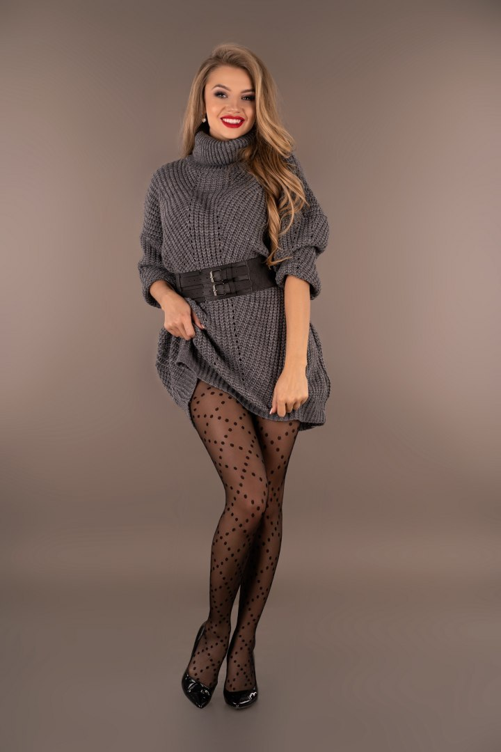 Merribel Joriana Dark Grey - S/M